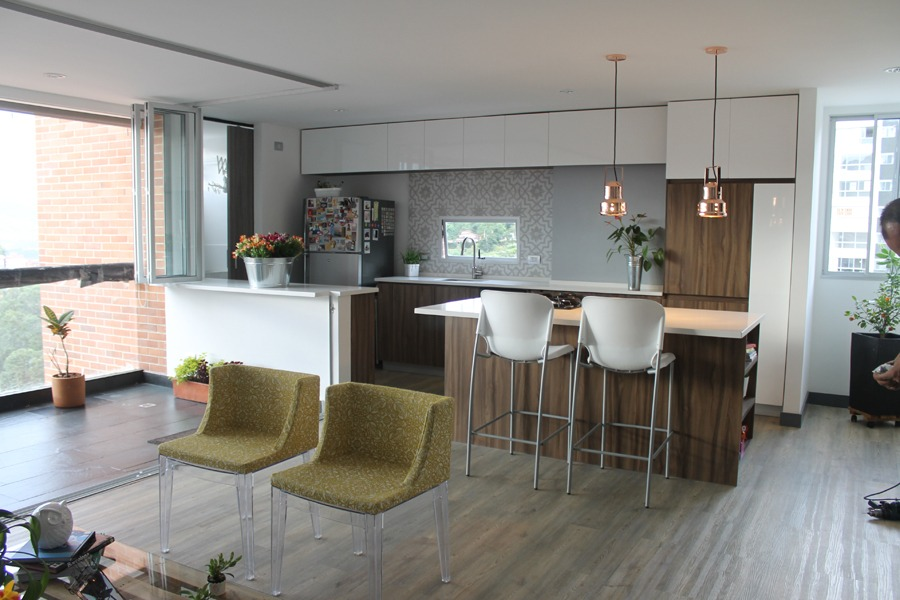 Una cocina donde puedes cocina y compartir con tu familia y amigos